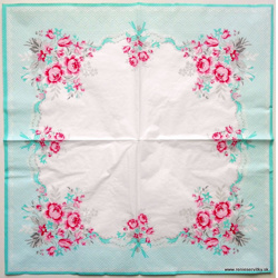 Serviette - Greengate - Rosen