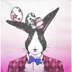 Napkin - Easterrabbit