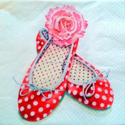 Napkin - Ballerina, Shoes