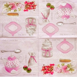 Napkin - Tea rose