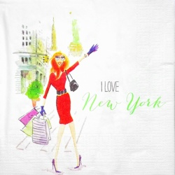 Napkin - Madame in New York