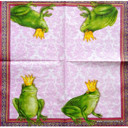 Napkin - Frogs