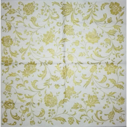 Serviette - Ornament Golt