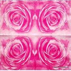 Serviette - Rose