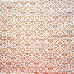 Serviette - Orange Hintergrund