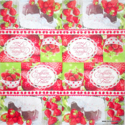 Napkin - Strawberry