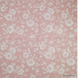 Napkin - Flowers - pink
