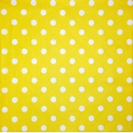Napkin - White points and yellow background