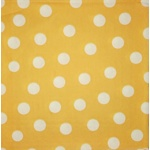 Napkin - White Points and mustard background