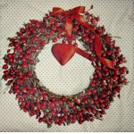 Napkin - wreath