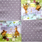 Napkin - Animals - Party Alex Clark