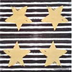 Napkin - Gold Star