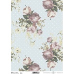 Rice paper R616 shabby chic